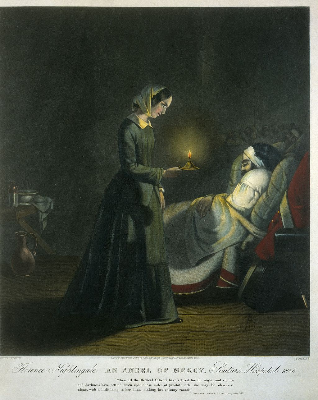 Print Florence Nightingale Wellcome Collecction