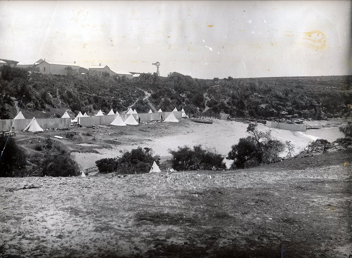 The Sanitary Camp at Little Bay