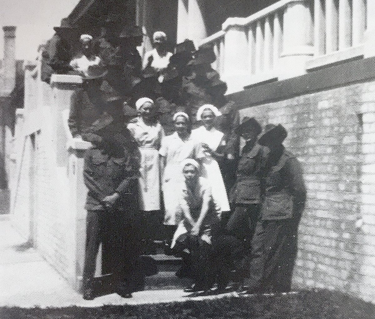 Nurses with troops circa 1940
