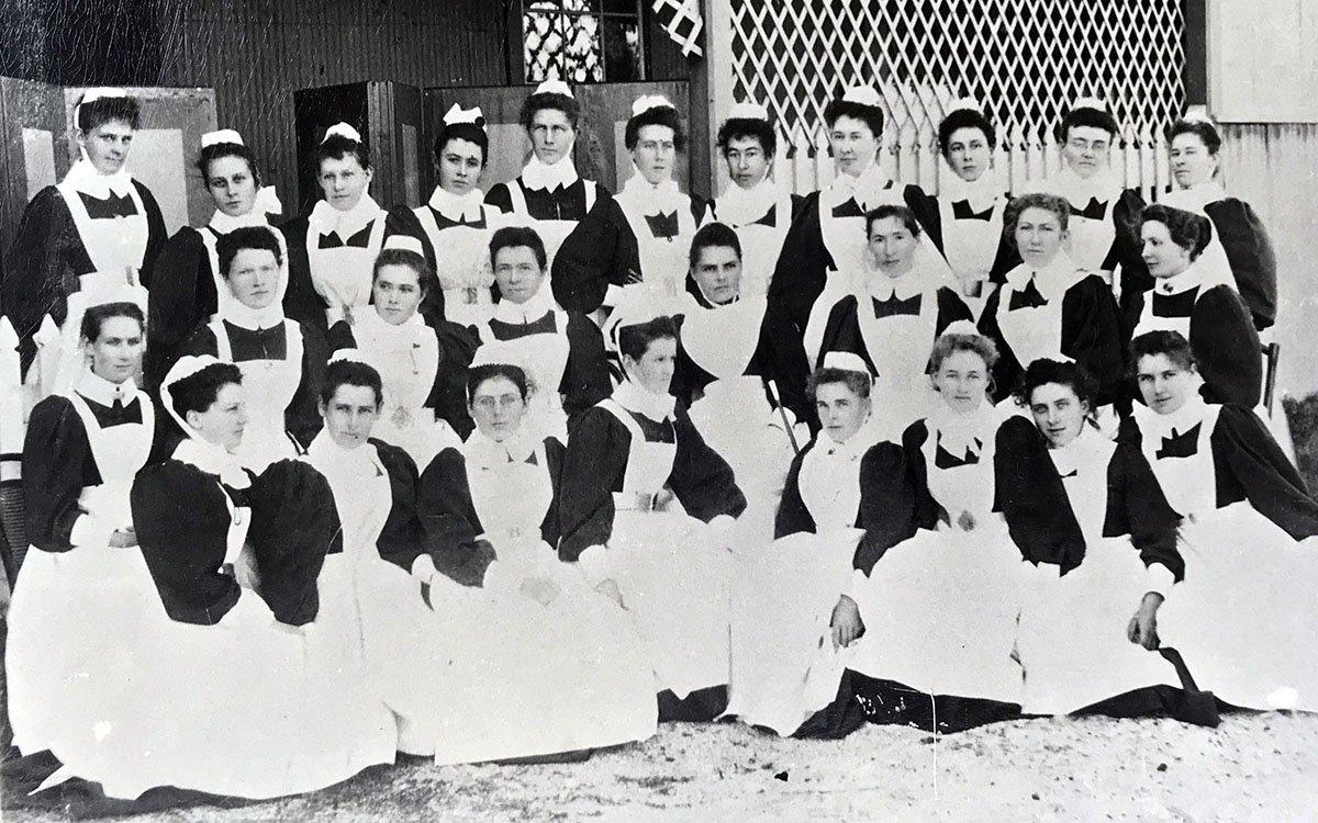 1900s Coast Hospital Nurses Student nurses