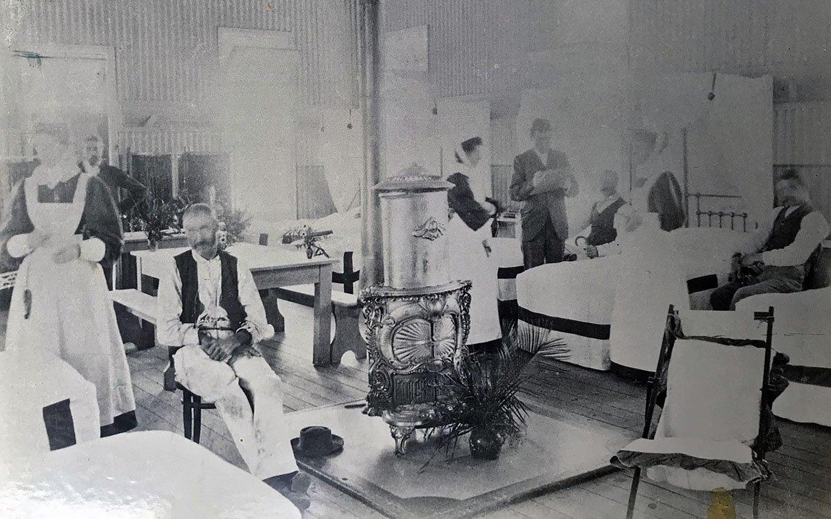 1900s Coast Hospital Nurses on the ward