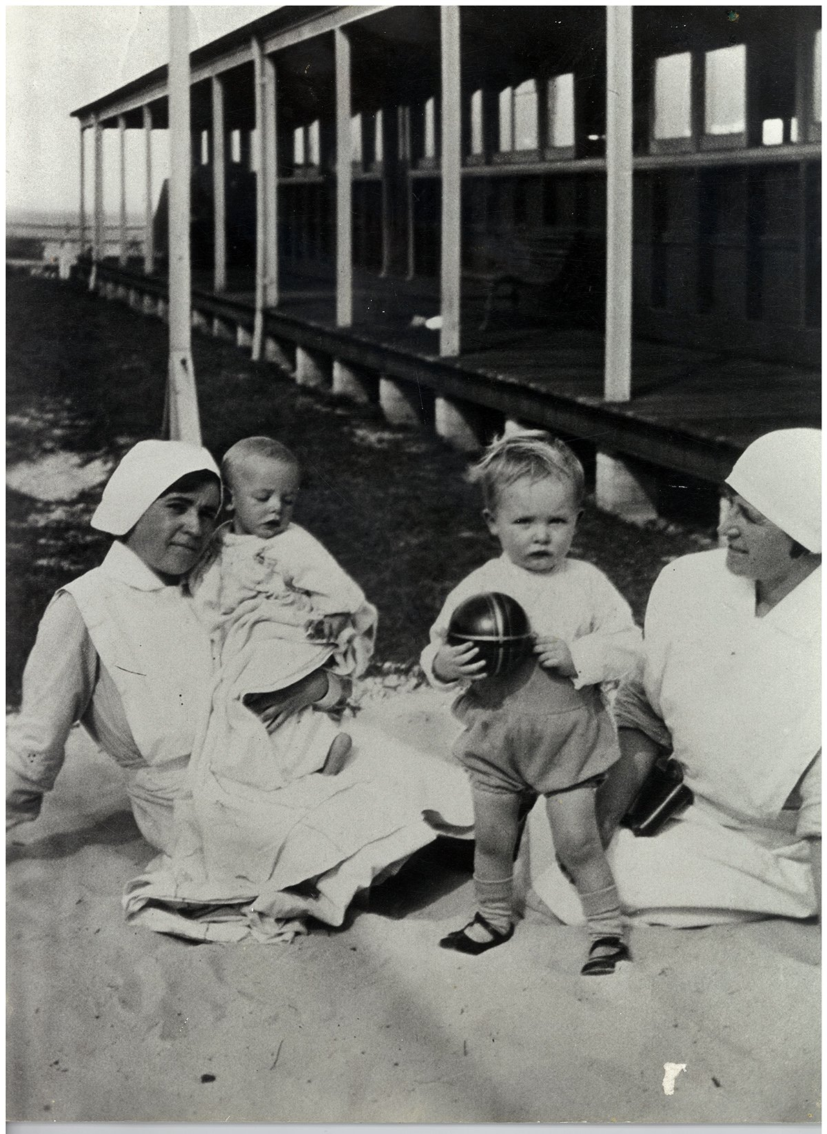 coast hospital nurses with babies