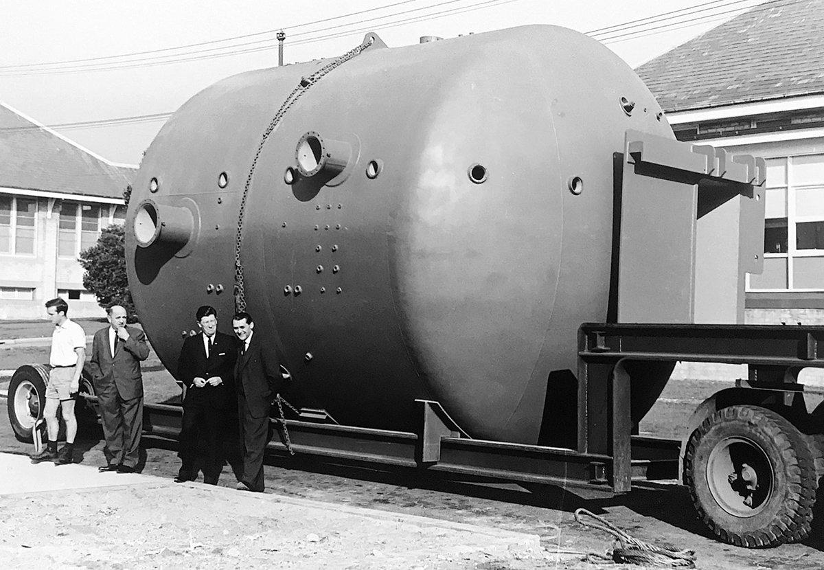 1964, Hyperbaric Chamber