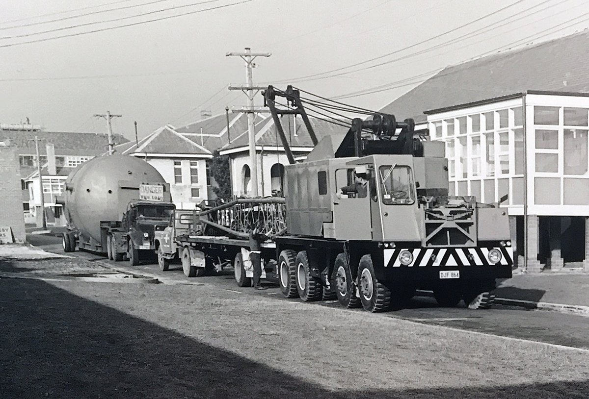 The Hyperbaric Chamber being delivered, 1964