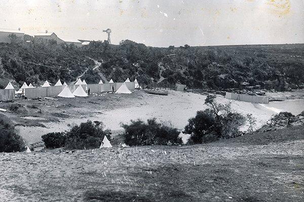 1884 The Coast Hospital Sanitorium Bell Tents