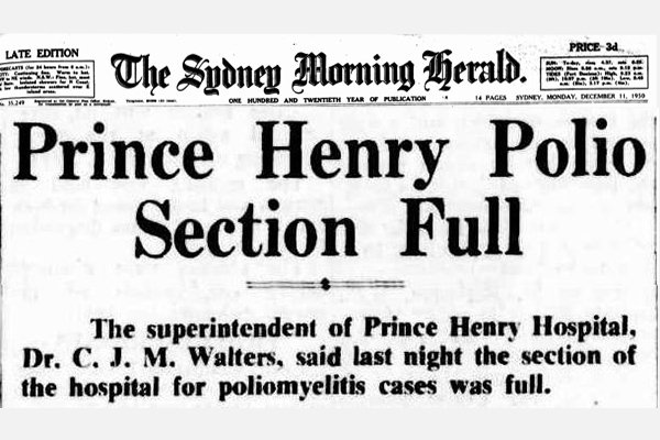 Newspaper Clipping 1905 Prince Henry Polio Ward Full