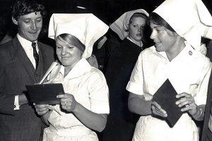 1970s graduate nurses celebrate