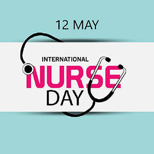 Logo international nurse day May 12