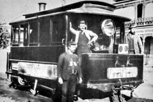 Steam tram