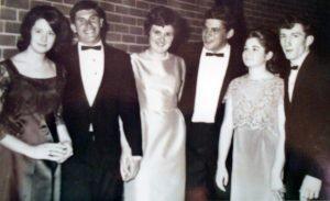1960s Graduate nurses graduation ball