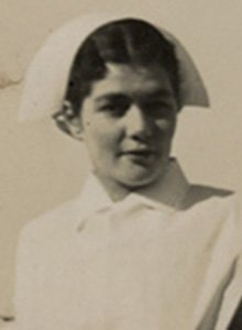 Prince Henry Hospital trained nurse Olive Pratt in 1936