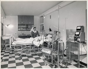 1960s Prince Henry hospital ward special care