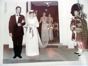 Anne & Melvyn Thompson's wedding