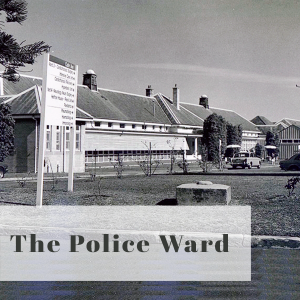 Bravery Bandages and Bedpans title The Police Ward