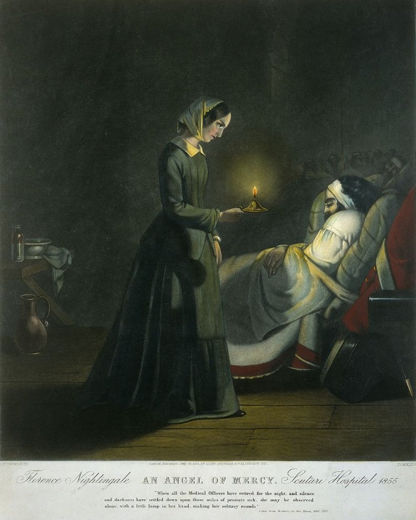 Florence Nightingale an angel of mercy welcome trust