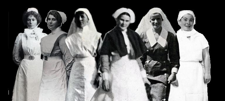 Evolution of the nurses uniform